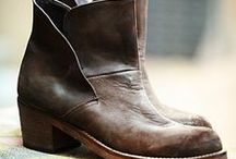Leather boots ·