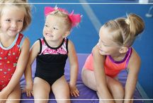 Young  gymnasts / These little cuties