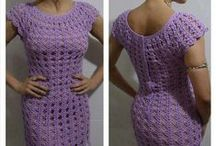 Crochet - Dresses for me.......! / by Marianella Ramos Cotto