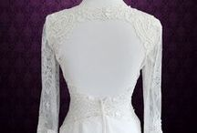 Keyhole Back Wedding Dresses / Keyhole back wedding dress in vintage lace, A-line, mermaid, sheath, fit and flare, and more styles.  Our gowns are available for any customization such as adding cap sleeves, long sleeves, beadings, sash, etc.