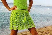 Crochet - Pants, Skirts & Two Piece sets / by Marianella Ramos-Cotto