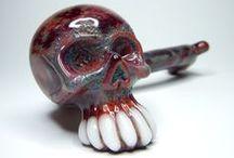 Skull Pipes / Skull Glass Pipes