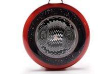 Cajun Glass Designs / Pendants made by Cajun Glass Designs and Marni