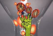 Zombie Hand Studios / Glass Vapor Rigs & Pendants made by Zombie Hand Studios