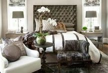 Luxury Bedroom Inspiration / Inspirational luxury bedrooms and accessories to complement all styles