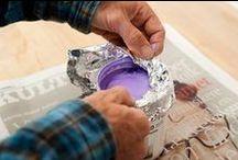 Maling - inde og ude / Tips til malearbejdet indendørs og udendørs