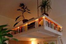 Reoler | Bookcases / Reolen har fået nye roller i hjemmet