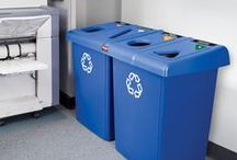 Recycling Receptacles / Turn your indoor or outdoor site into an Eco-friendly environment by purchasing recycling receptacles that look great and encourage recycling.