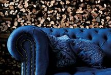 Trend Alert: Into the blue / Mid week inspiration: INTO THE BLUE Whether you're looking for a spectacular piece of furniture to act as a focal point in your home or just some stunning accessories to live up your interiors, blue is the answer – in all shades! The colour is a big trend featuring in nearly all furniture exhibitions around the world. Find your favourite blue companion at Sofa & More!