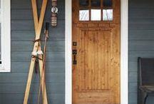 drzwi frontowe/wewnętrzne -front/in doors