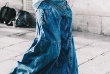 Denim dresses/skirts