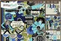 Just So Scrappy and Ooh La La Scraps Products