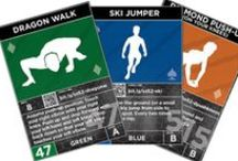 Strength Stack 52 / Strength Stack 52 is a deck of smartphone-enhanced bodyweight fitness cards that makes fitness FUN.  Millions of workout combinations fit in the palm of your hand with zero equipment required. Turn a classic game like war into a father-son fitness challenge, or bring the cards to work and play the Coworker Drop.