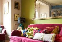 Color Rush / Jewel tones rule our homes.