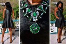Black Chic Fashion / ...Black street fashion...