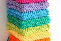 I'm learning to knit! / knitting projects