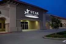 Star Cinema Grill Locations / Star Cinema Grill is a Houston based dine-in-theater concept that has four locations in the United States throughout Houston and Chicago. Visit our Houston locations in Clear Lake, Conroe, and Missouri City/Sugar Land! Visit our Chicago location in Arlington Heights!
