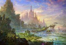 Fantasy Art - Landscapes
