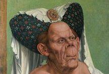umění obrazy klobouky