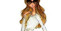 Drawings & Fashion