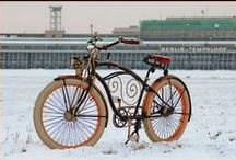 Rust is my favorite Color / Costum and interessting Bicycles
