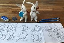 Illustration Classes / I teach Children's Book Illustration at Central St. Martins, UAL London. Below are images from my Short-Course classes and private studio tutorials to give an indication of what goes on there