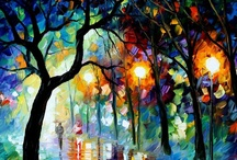 Leonid Afremov / by Megan Joel Peterson