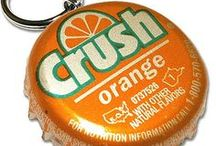 Crushing on Orange   / Orange IS the happiest color -- Frank Sinatra *.¸¸.*  / by Bloom Taliercio (Bloom)