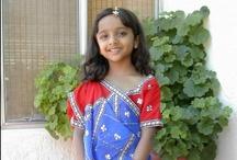 Kids Saree / Browse kids readymade saree from India