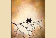 Acryl painting