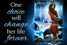 Books - As Skye Malone / Books by me written as my alter ego, Skye Malone. YA paranormal romance and fantasy novels, series, and novellas. / by Megan Joel Peterson
