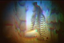 RGB camera / This camera scans images in 'color', by capturing the image 3 times simultaneously in Red, Green and Blue. Composing the 3 images together into one, gives a vibrance and unique image.