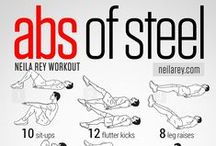 Abdominals by neilarey.com / Series of abdominal workouts by neilarey.com