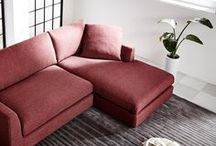 Red / Interiors and furniture with red colors