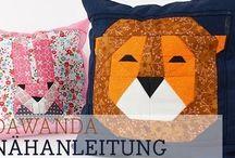 Piece by piece / Quilt und paper piecing