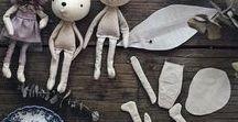 Doll / Art Doll. Cloth doll. Soft doll. Plush doll. Baby toy. Doll making and DIY.