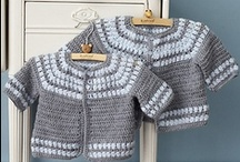 Crochet | Clothing for Children / A collection of free and paid crochet patterns and inspirations.