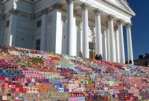 Yarn Bombing / A collection of some of the most amazing and inspiring yarn bombings!