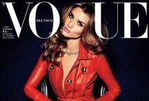 Vogue..Magazine Cover / by Caroline DiBattista
