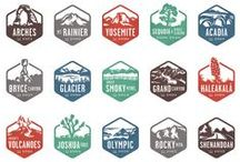 National Parks & Great Lodges of the US / Pack up for a old style camp adventure and head off to one of the United States incredible National Parks. Stay in one of the many historic Great Lodges of these parks and recount your days adventure in front of the roaring stone fireplace. / by Wanderlust Designer