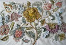 Crewelwork,Jacobean embroidery / by Hülya Sönmez