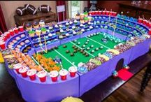 "SUPERBOWL / It's not a Superbowl party without tasty foods and fun decor!  Watch ""Home & Family"" weekdays at 10a/9c on Hallmark Channel!"