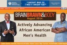 BB&B Covers / Covers of Brain Brawn & Body online men's health magazine