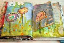Artsy journals and creativity