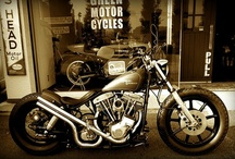motorcycles / by Tommy Jones