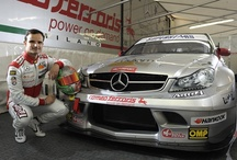 Official Mercedes Superstars / We are technical partner of the Official Mercedes C63 AMG of the International Series Championship