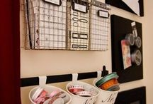 HOME Organization / a collection of pins that will help give you tips and ideas for getting your home organized and mastering the art of organization - start to organize your kitchen, bathrooms, closets, bedrooms, garage, and more!