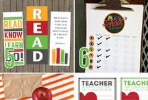 Back to School / Prepare for the end of the summer and the new school year ahead! Tons of A+ back to school ideas, tips, crafts, printables, and tutorials.
