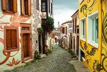 Matteo Allegro's World Tour of Charming Streets / If coffee hunter Matteo Allegro took you on a virtual vacation to some of the world's most charming streets, this is what it might look like...
