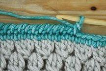 DIY - Crochet: puntos y tips / by Luruana Rico
